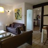 Vakantiewoning Frensjerhofke de Lijster woonkamer-keuken