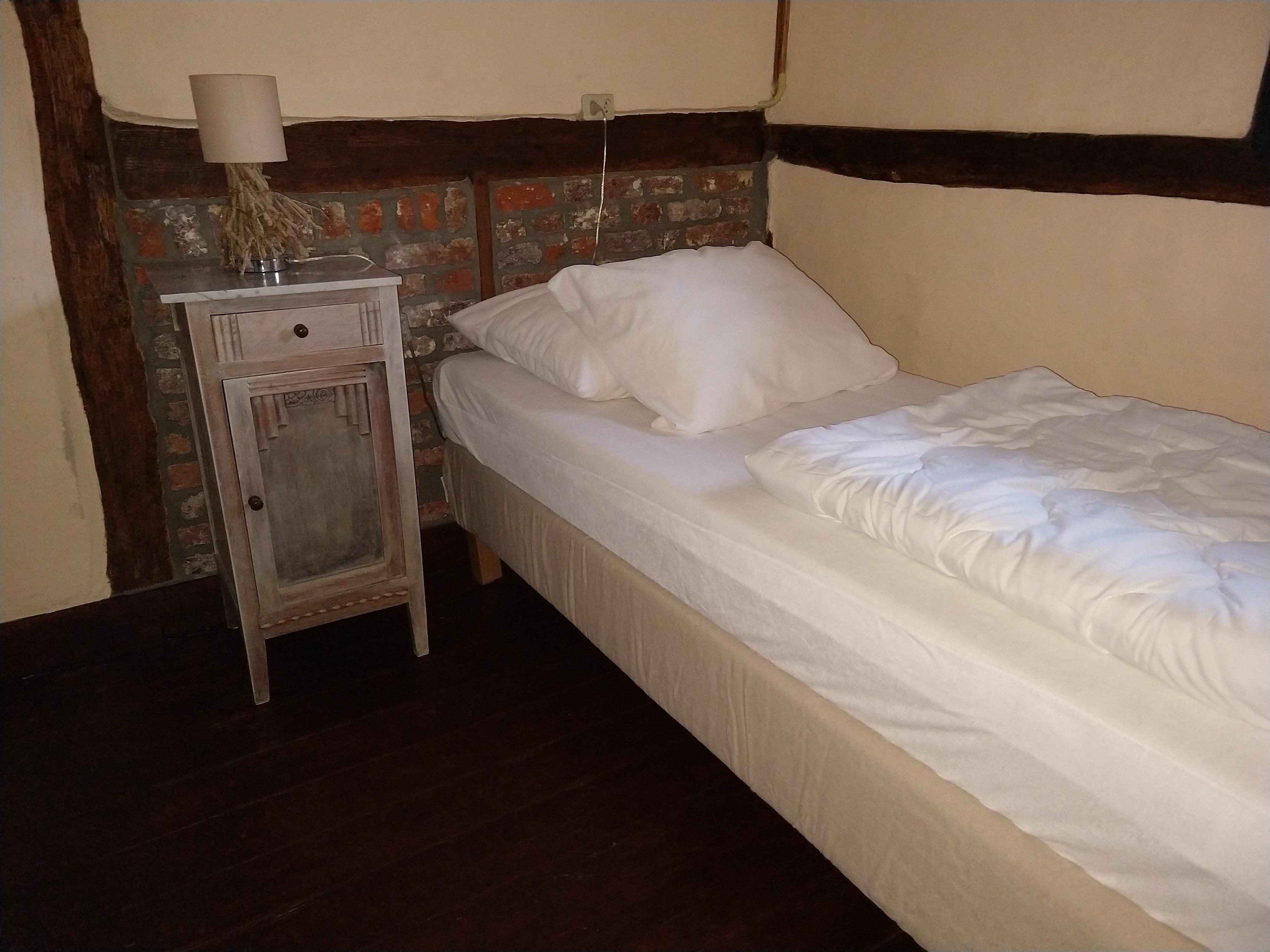 huisje de Merel deze derde  slaapkamer, is alleen optioneel te huur