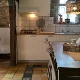 Frensjerhofke Vakantiewoningen huisje de Merel keuken