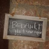 Frensjerhofke naambordje bij huisje de Zwaluw