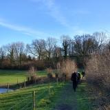 winter wandelingen nabij Frensjerhofke