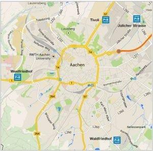 Aken, Aachen, Keizerstad
